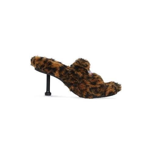 furry 80mm sandal