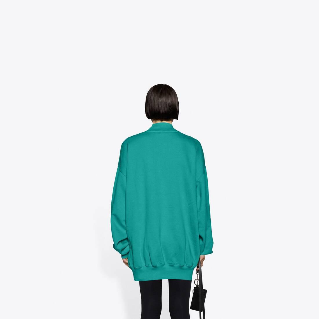 Display zoomed version of real balenciaga 2 crewneck sweater 5
