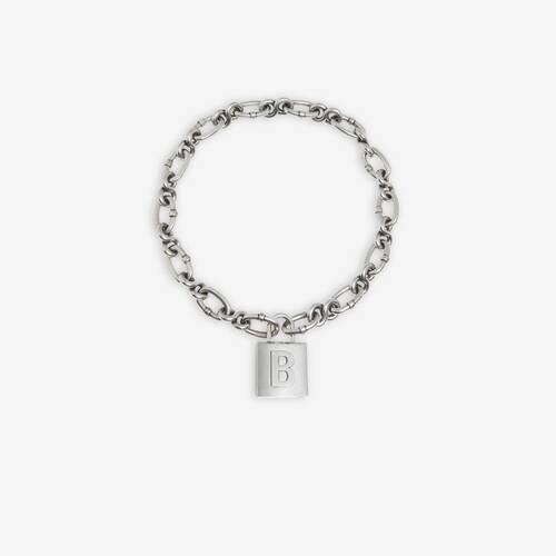 lock chain ネックレス