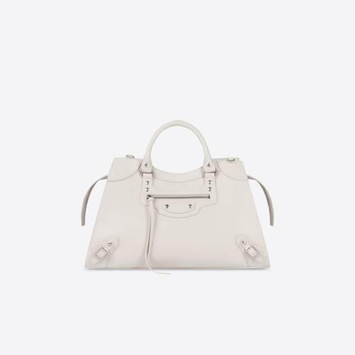 neo classic large top handle bag with short handle