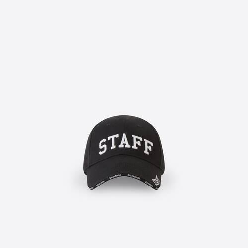 casquette staff