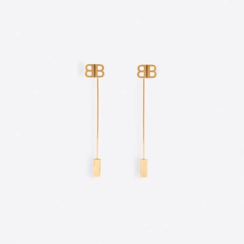 pin bb earrings