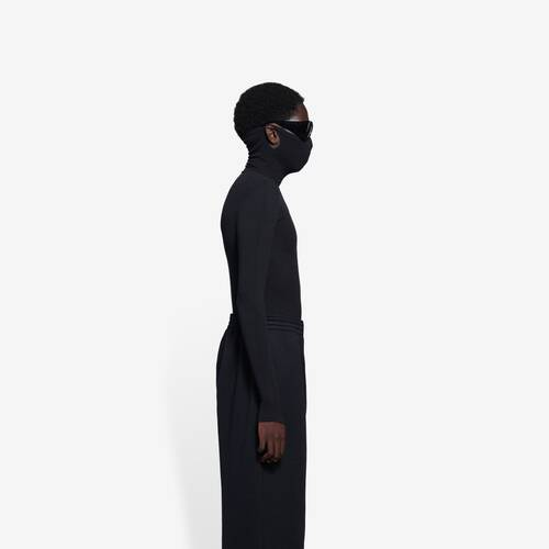 mask turtleneck
