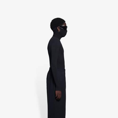 mask turtleneck