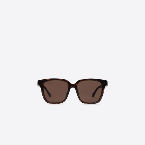 side d-frame sunglasses