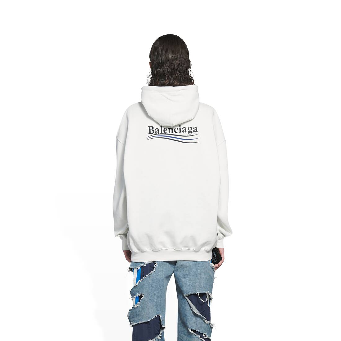 Display zoomed version of political campaign medium fit hoodie 5