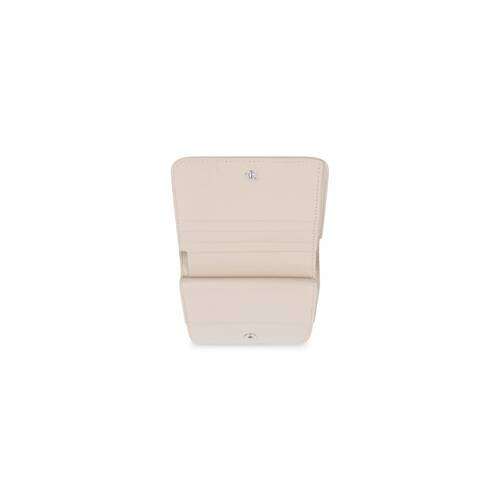 essential flap coin and card holder