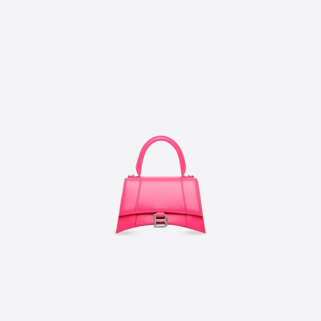 Display zoomed version of hourglass xs top handle bag 1