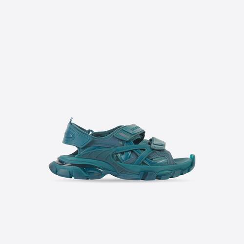 track sandal clear sole