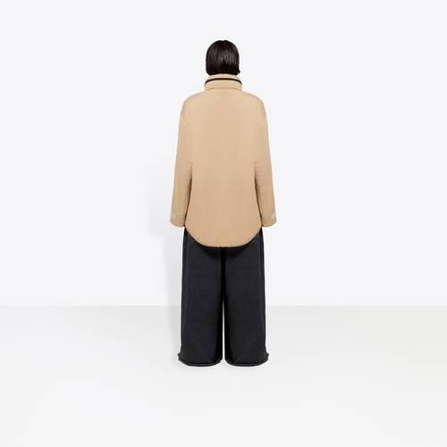 c-shape military jacket