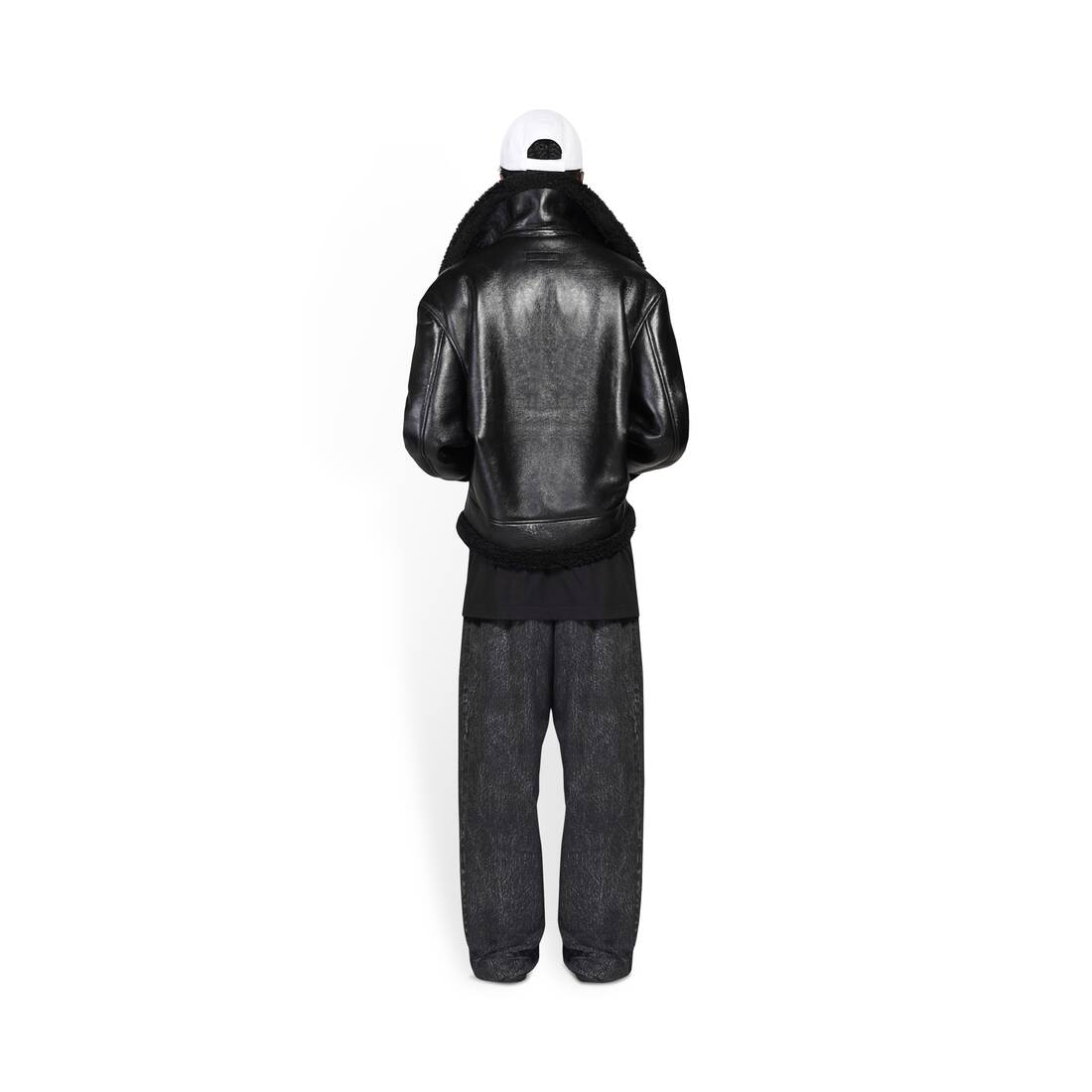 Display zoomed version of cocoon aviator jacket 5