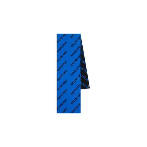 allover logo scarf