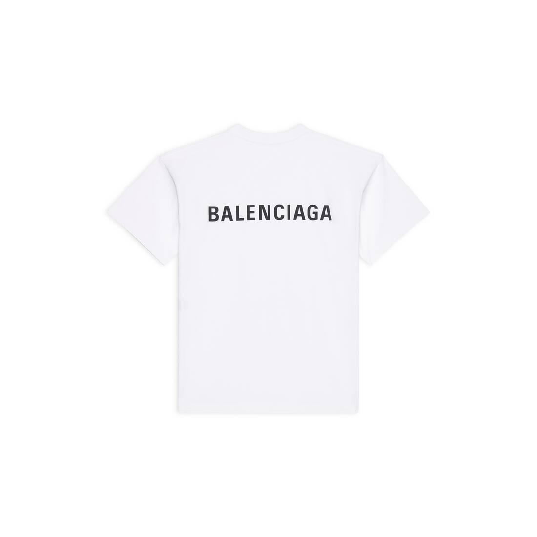 Display zoomed version of balenciaga large fit t-shirt 2