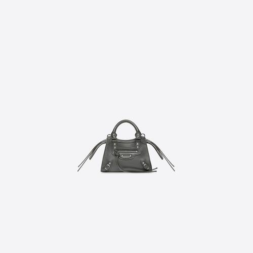 neo classic nano top handle bag