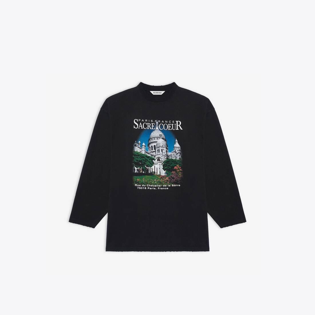 Display zoomed version of sacré cœur xl long sleeves t-shirt 1