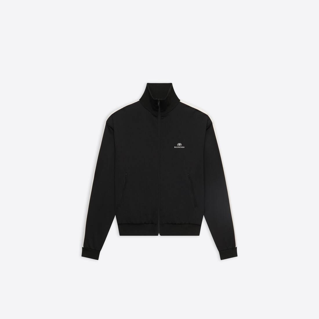 Display zoomed version of zip-up jacket 1