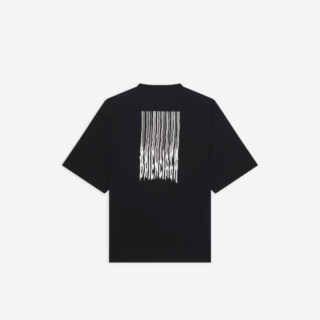 Display zoomed version of barcode wide fit t-shirt  2