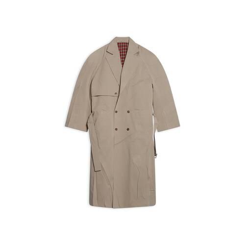 trench-coat oversize