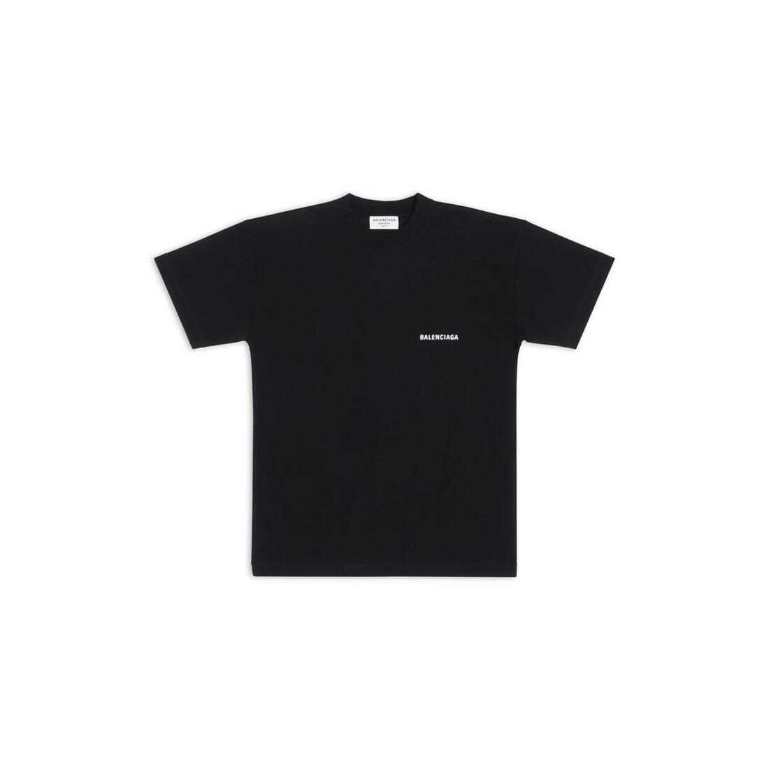 Display zoomed version of balenciaga large fit t-shirt 1