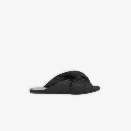 drappy flat sandal
