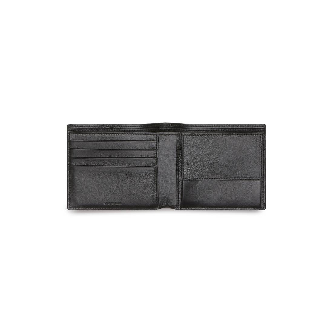 Display zoomed version of cash square folded coin wallet 3