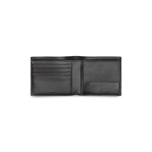 cash square folded coin wallet