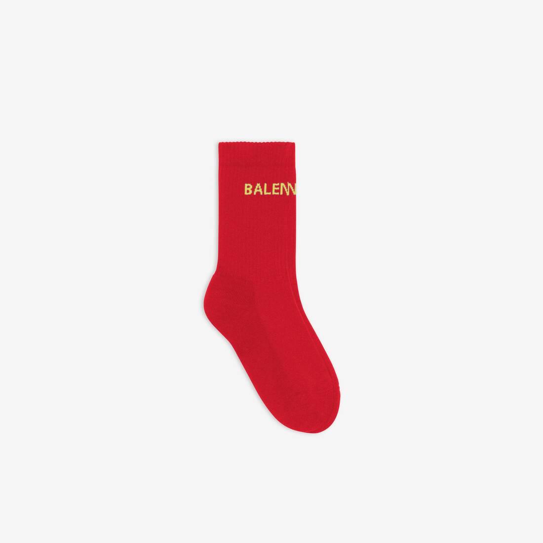 Display zoomed version of logo socks 1