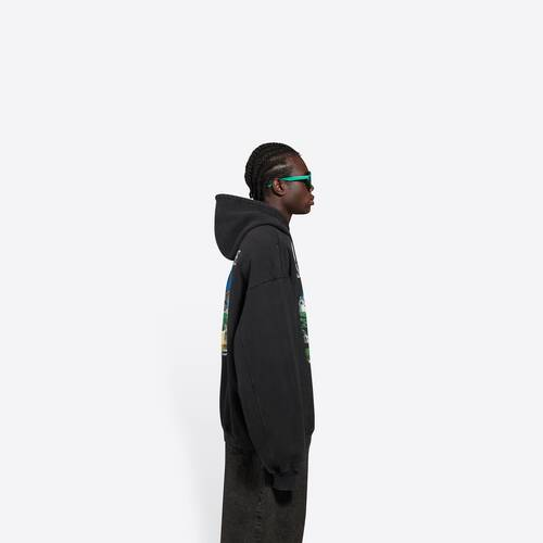 sacré cœur bomber hoodie