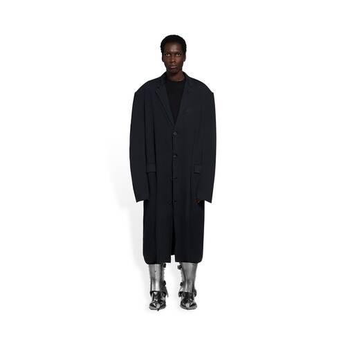abrigo worn-out tailored