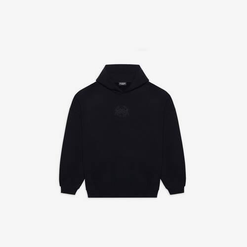 lion's laurel large fit hoodie