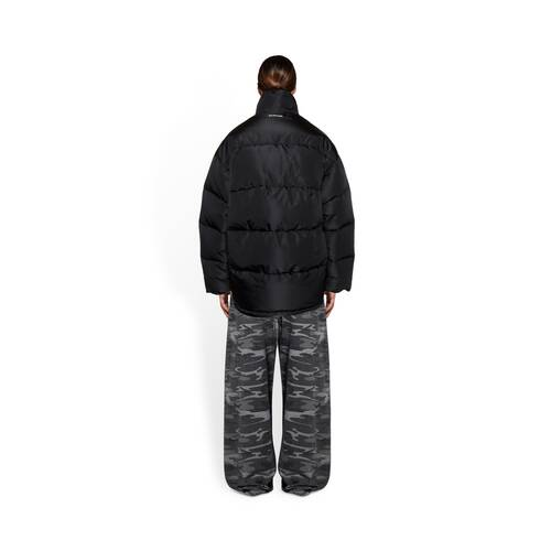new c-shape puffer jacket