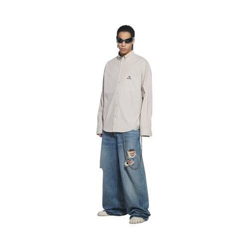 sporty blncg large fit shirt