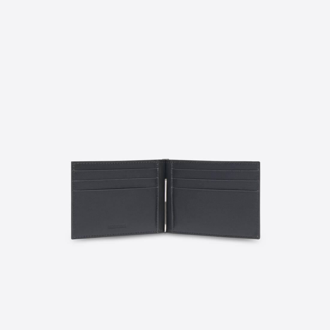 Display zoomed version of portefeuille carré avec pince à billets cash 3