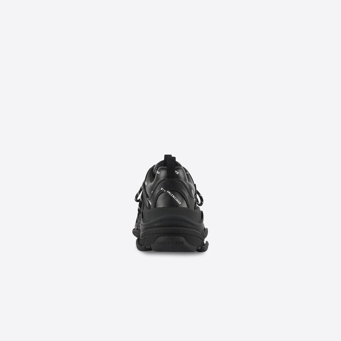 Display zoomed version of allover logo triple s sneaker 5