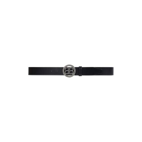 circled bb large belt