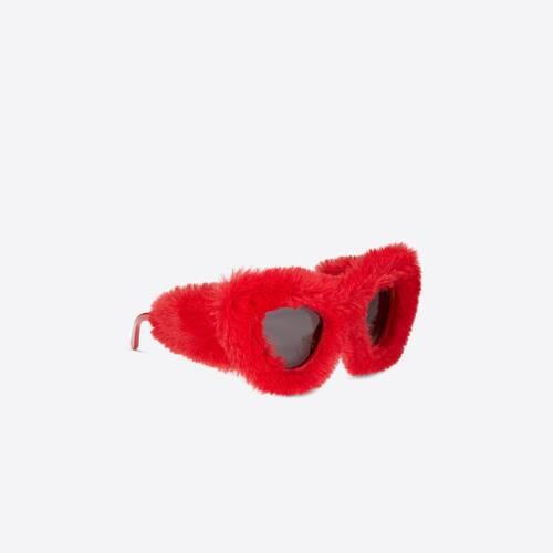 fluffy cat fashion accessory