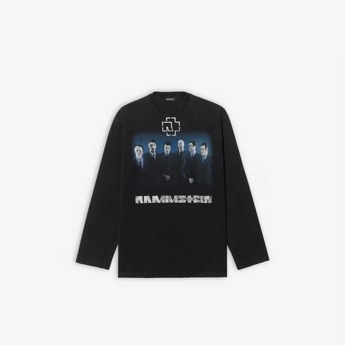 rammstein boxy long sleeve t-shirt