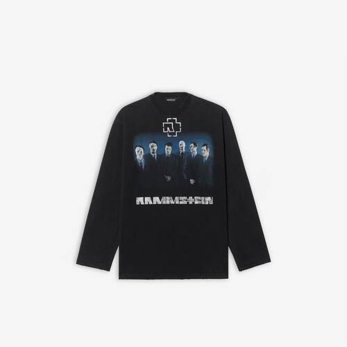 rammstein boxy long sleeve t-shirt