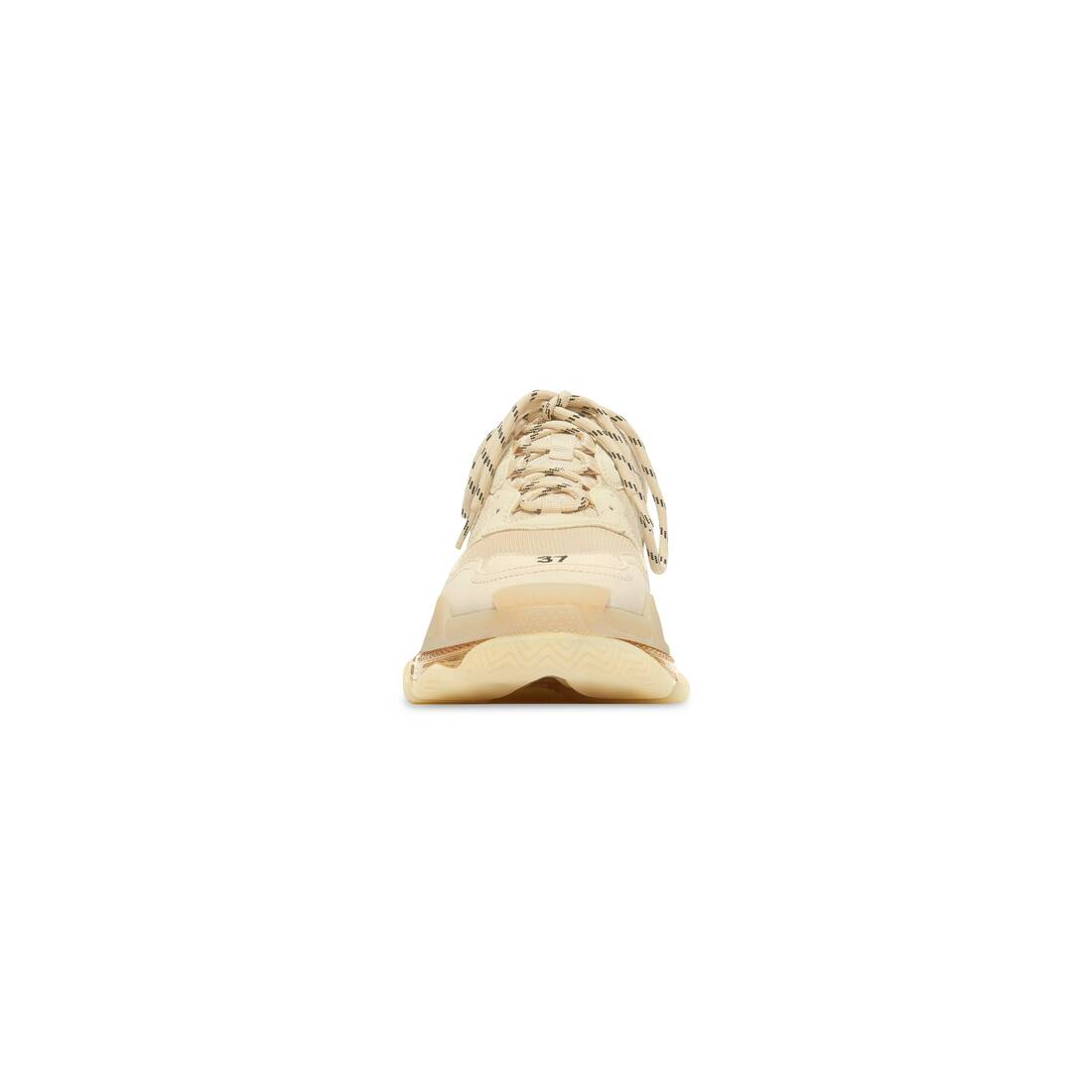 Display zoomed version of triple s clear sole sneaker 3
