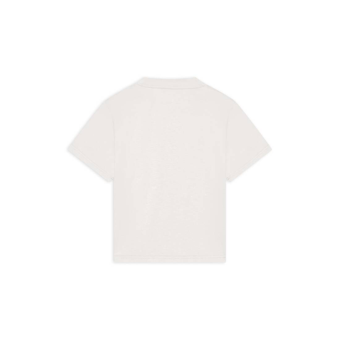 Display zoomed version of kids - balenciaga logo t-shirt 2