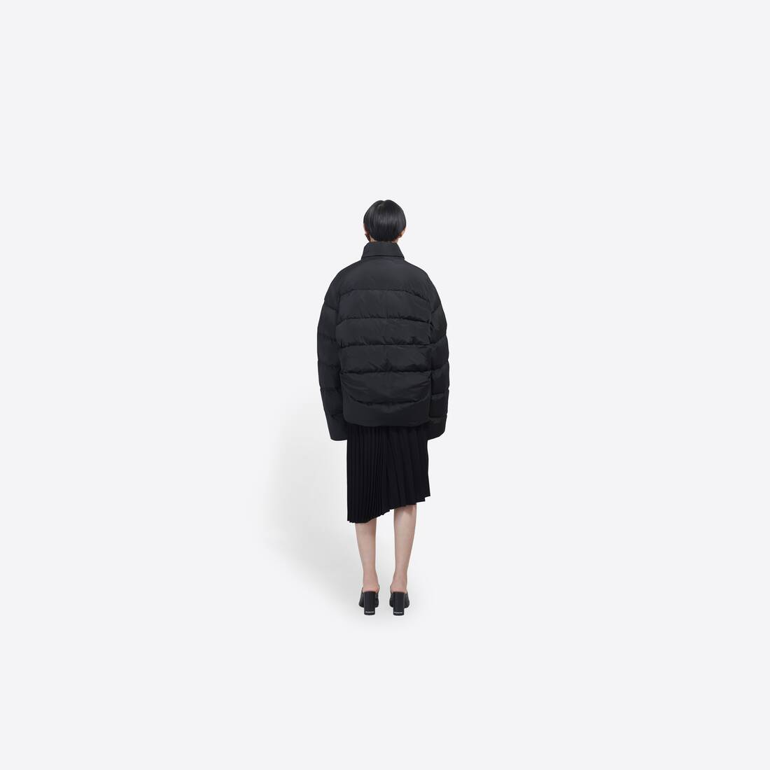 Display zoomed version of c-shape puffer jacket 5