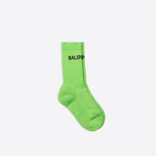 logo tennis socks