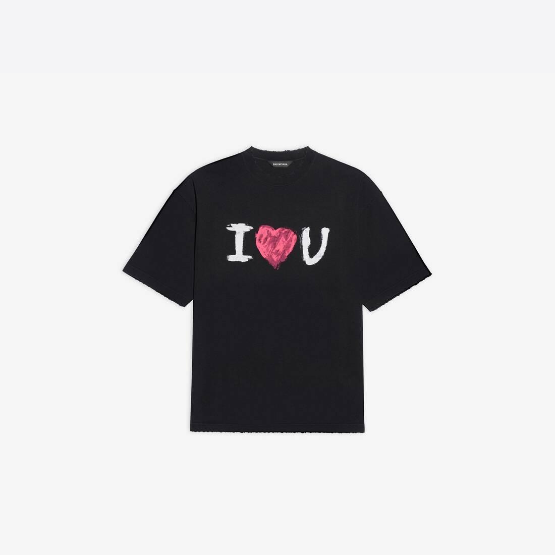 Display zoomed version of i love u medium fit t-shirt 1