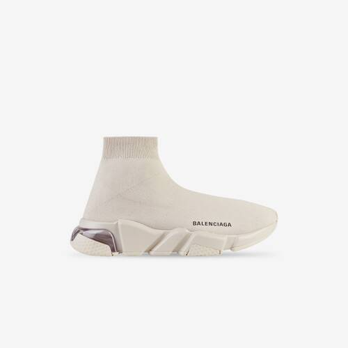 sneaker speed clear sole