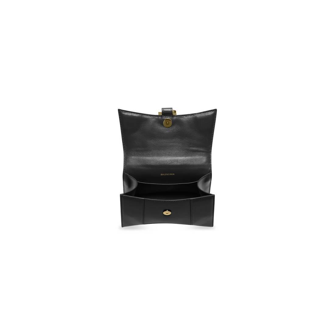 Display zoomed version of hourglass xs top handle bag 5