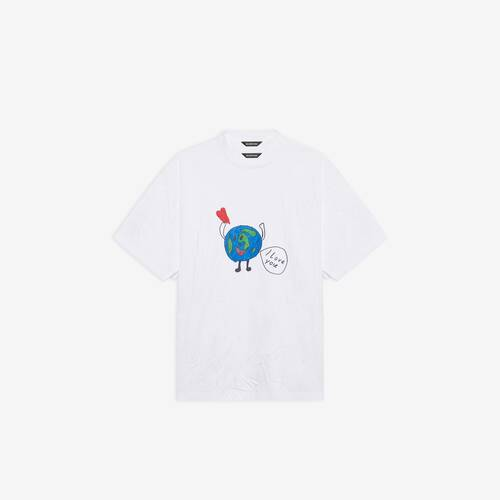 t-shirt love earth flatground large fit