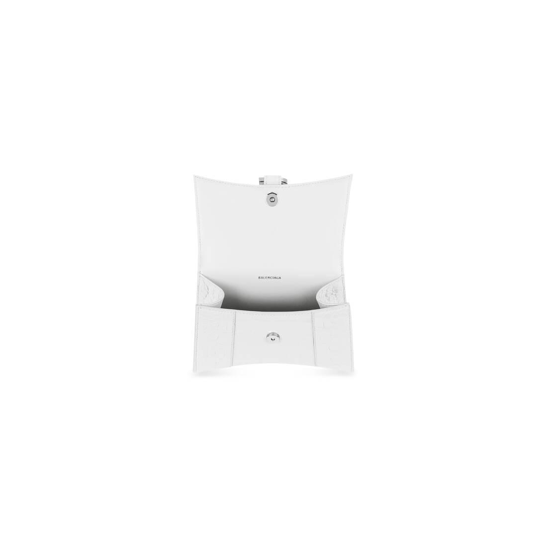 Display zoomed version of hourglass xs top handle bag 6