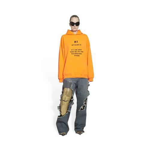 boxy hoodie hi my name is