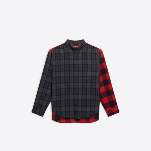 patchwork シャツ