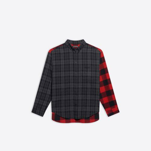 camicia patchwork